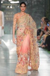 Jharokha embroidered blouse