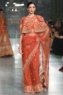 Mehrab Hand Embroidered Saree