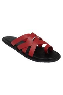 Open flat sandals