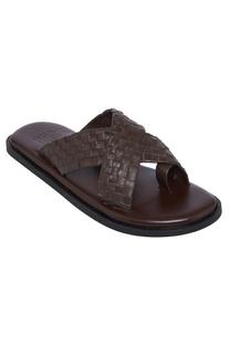 Cross Strap Open Sandals