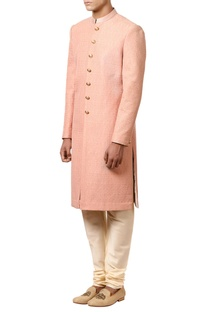 Sherwani kurta with stylish buttons