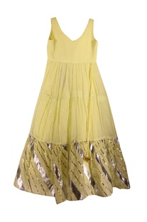 Gota Patti Embroidered Dress