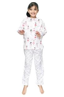 Ballerina Print Pyjama Set