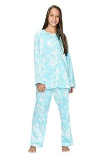 Daisy Flower Print Pyjama Set