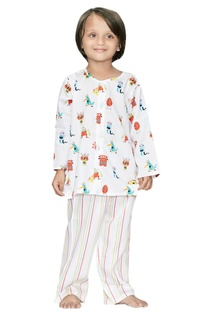 Monster Print Pyjama Set