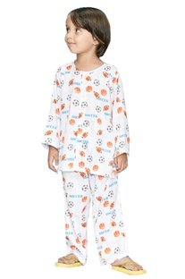 Soccer Printed Night Suit Set