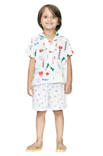 Musical Boys Night Suit Set