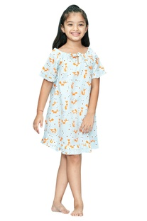 Fox Print Nightdress