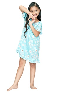 Daisy Flower Print Nightdress