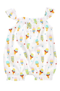 Baby Girl Candycone Romper