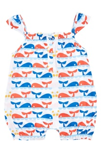 Baby Girl Dolphin Romper