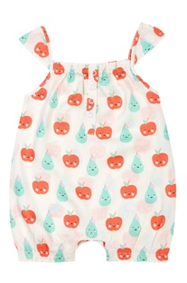 Fruits Baby Girl Romper