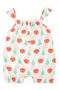 Fruits Baby Girl Romper