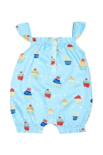 Baby Girl Muffin Romper