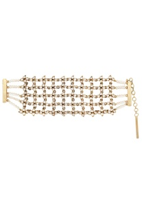 Crystal Indian Architecture Inspired Bracelet