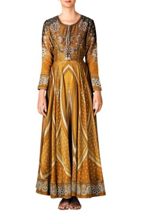 Printed anarkali tunic