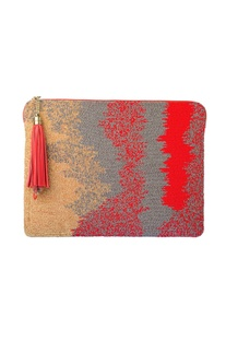 Red ombre tablet sleeve