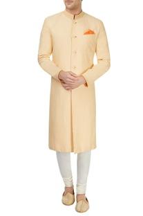 Yellow sherwani