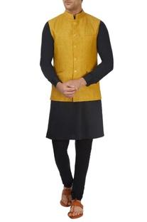 Mustard yellow bandi jacket