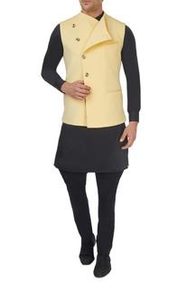 Yellow neoprene waistcoat