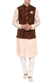 Multicoloured Nehru jacket