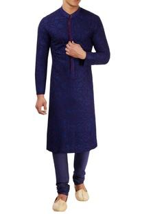 Navy blue kurta set
