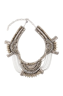 Silver chained necklace