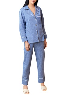 Lake blue pajama set