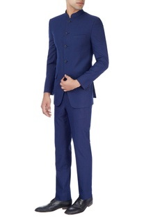 Royal blue jacket & trousers