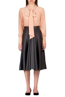 Grey scuba style skirt
