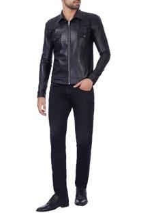 Matt black laser cut jacket
