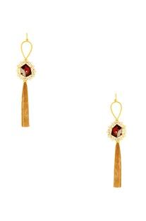 Suhani Pittie tribal tassel earrings