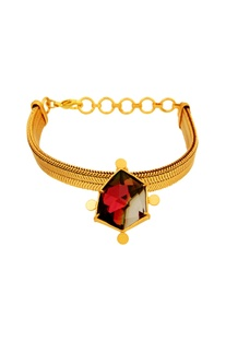 Suhani Pittie tribal drop bracelet