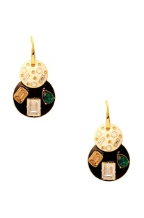 Shivan & Narresh emerald jazz earrings