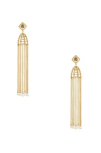 Tassel treasure earrings