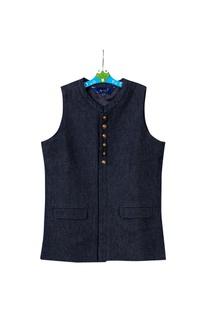 Blue denim bandhi jacket