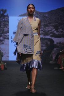 Cornflower yellow cotton embroidered kimono jacket