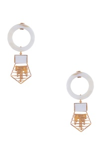 Grecian style dangler earrings