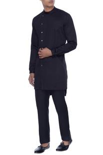Black kurta style shirt