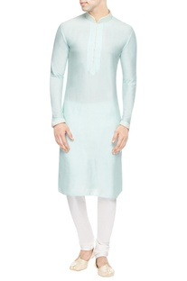 Light blue kurta with embroidery