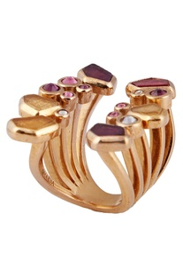 Bejeweled statement ring