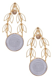 Leaf Dangler Earrings