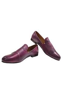 Buckle Strap Block Heel Shoes