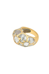 Celeste mirror work statement ring