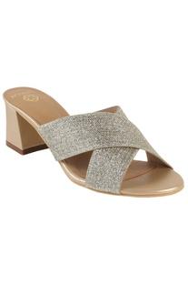Medium cross-strap sandals