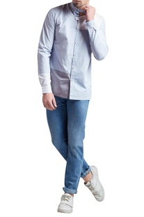 Sustainable linen button down shirt