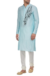 Abstract detailed kurta