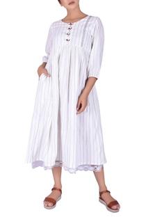 Handwork maxi dress