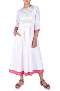 Kutch work maxi dress