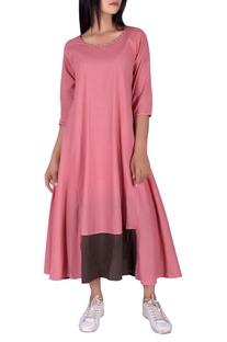 Katha work flared maxi dress